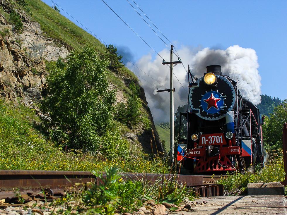 Кругобайкальская железная дорога открытки если